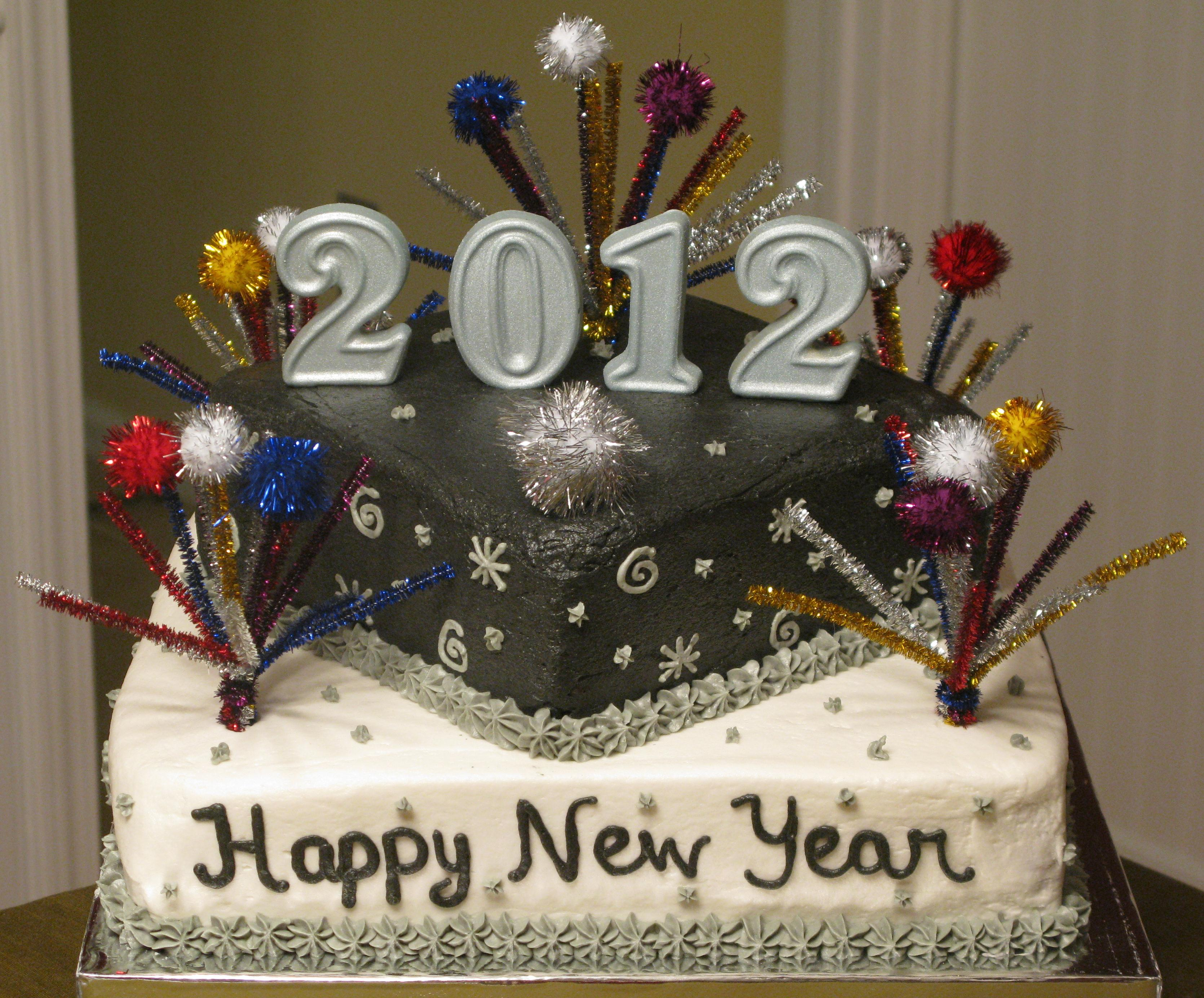 New Year s Cake Super Sweet Tooth