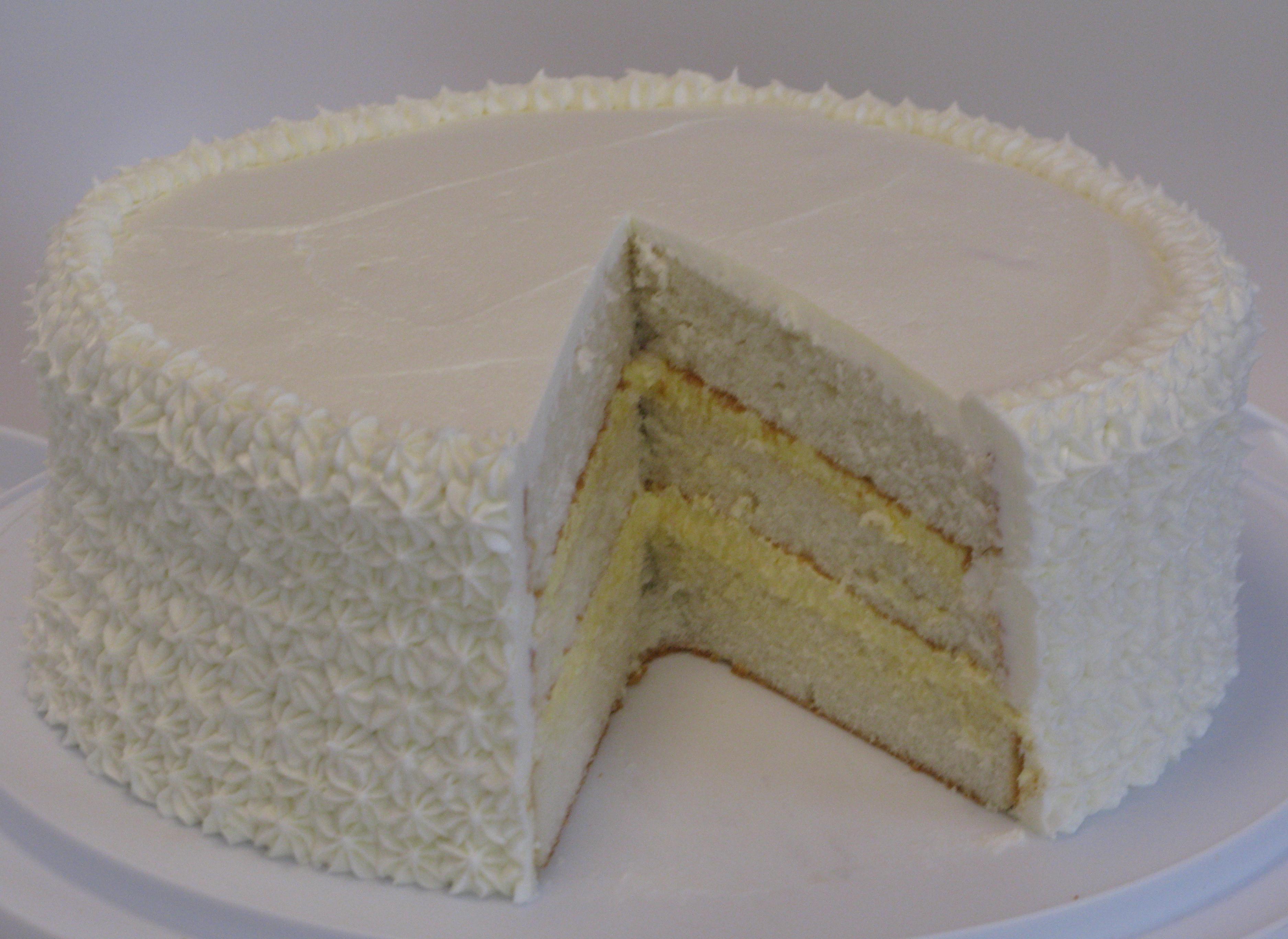 Cream Filling Chocolate Cake