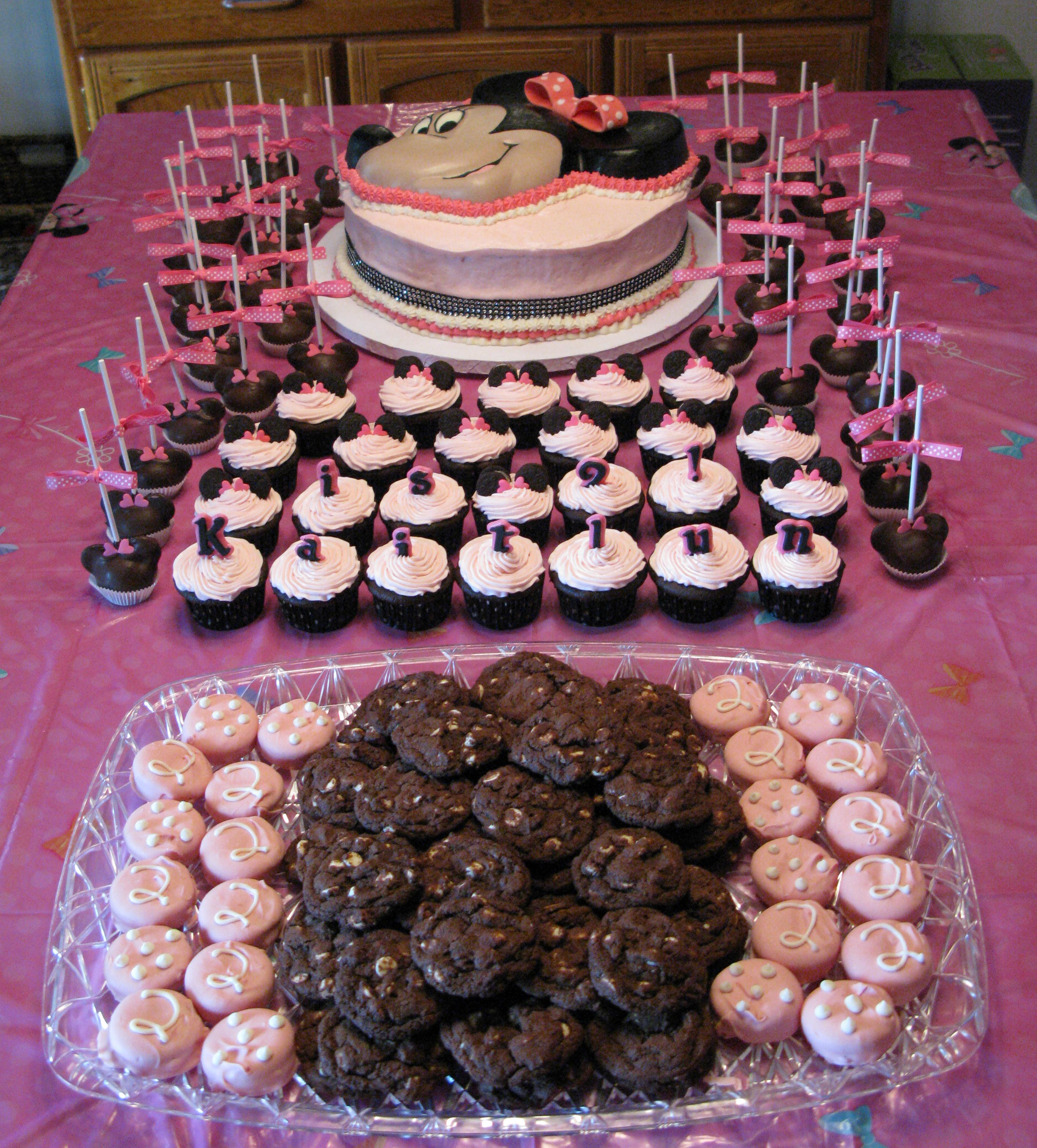 1000 Images About Minnie Mouse Theme For Maddy 1st Bdy On