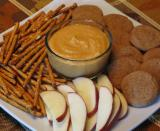 Pumpkin Pie Dip with Gingerbread Cookies