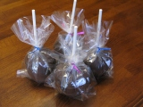 Dark Chocolate Covered Apples