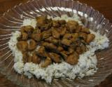 Hawaiian Crock Pot Chicken with Buttered White Rice