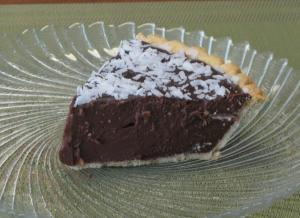 chocolate coconut pie 2