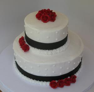 Leah's wedding cake