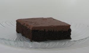 chocolate zucchini brownie