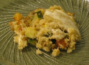 baked quinoa ratatouille