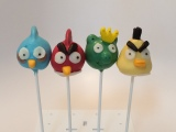 Angry Birds Birthday Cake and Cake Pops