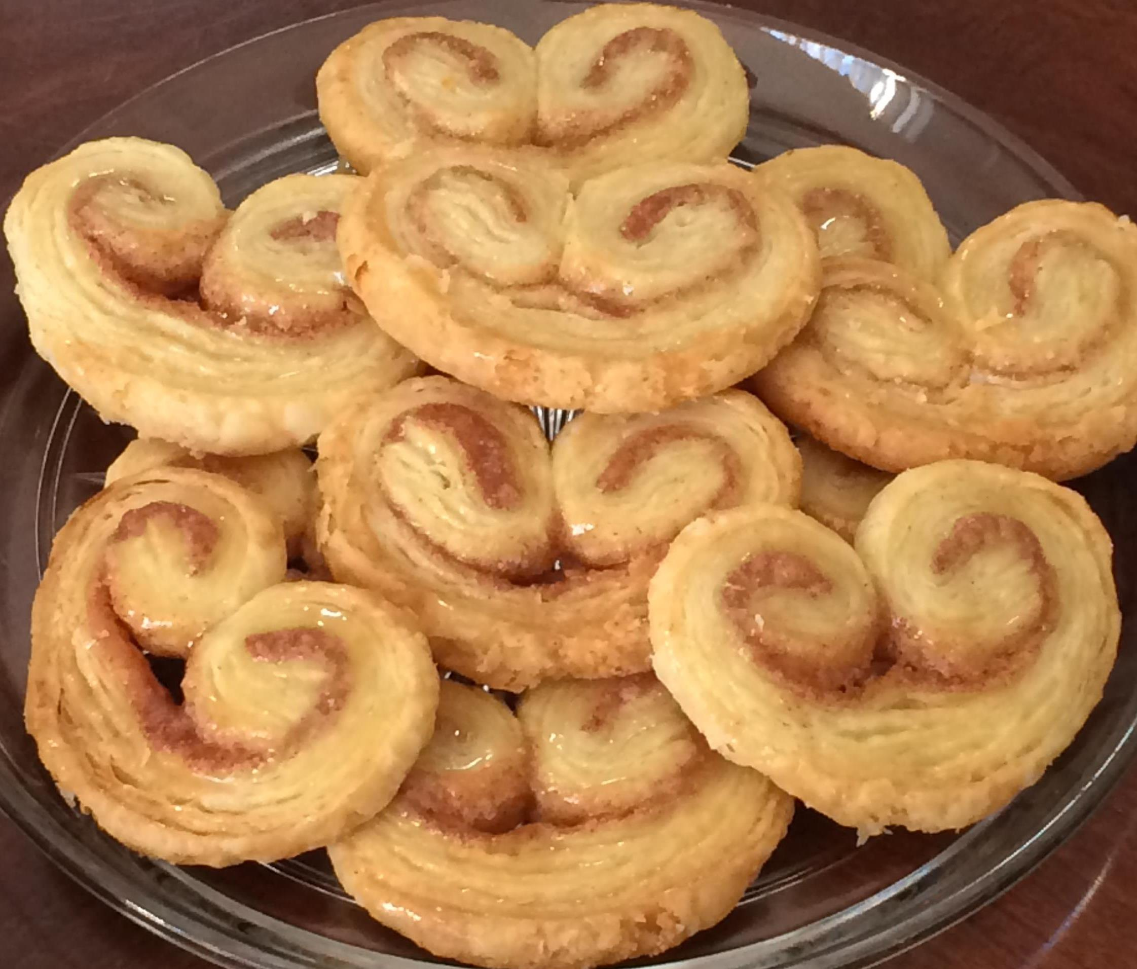 lemon rosemary palmiers palmiers elephant ears fresh olive oil and sea ...