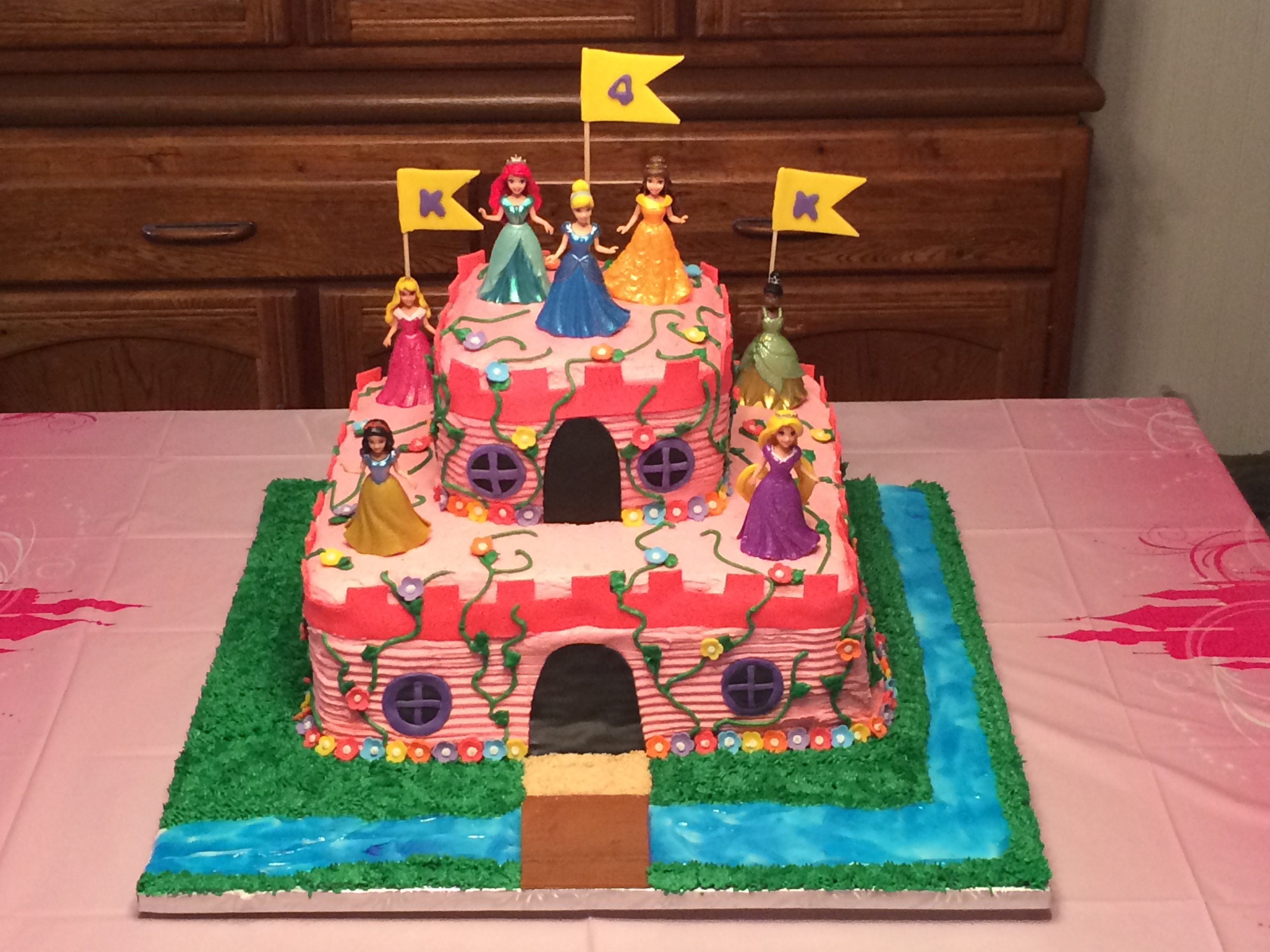 princess castle cake | super sweet tooth