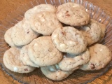 White Chocolate Almond Cookies