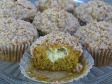 Pumpkin Cream Cheese Streusel Muffins