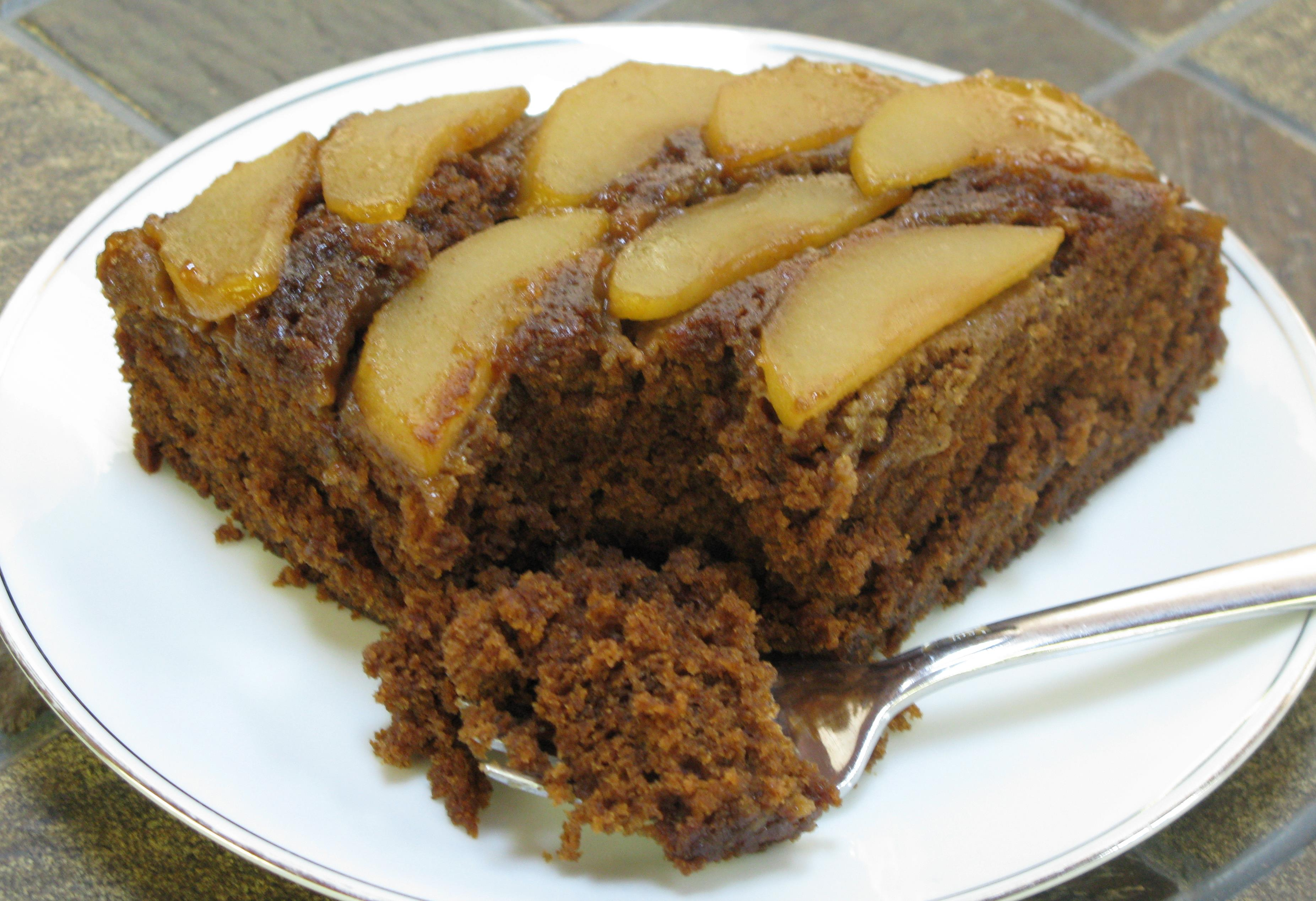 Gingerbread Apple Upside-down Cake Recipes — Dishmaps