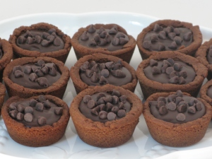 chocolate truffle tarts